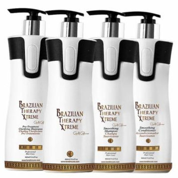 Brazilian Therapy Xtreme BTX Keratin Cure Treatment 15 oz 4 piece Kit 460 ML