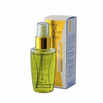 Keratin Cure Shine & Cure Moisturizing Hair Serum Drops 120/4floz