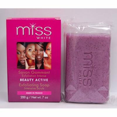 Fair & White Miss White Beauty Active Exfoliating Soap 7 oz. (Pack of 2)