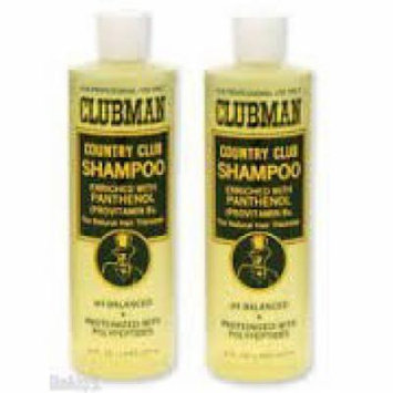Clubman Country Club Shampoo 16oz (pack of 2)