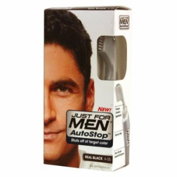 Just for Men Autostop Hair Color - Real Black Kit (Pack of 2)