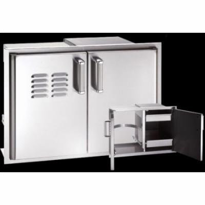 Double Access Door with two Dual Drawers
