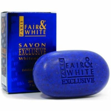 Fair & White Exclusive Exfoliating Soap 7 oz. (Pack of 2)