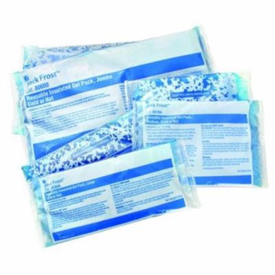 Cardinal Health 80304A 4. 5 x 10. 5 inch Jack Frost Insulated Hot & Cold Gel Packs, Reusable, Large, 24 per Case