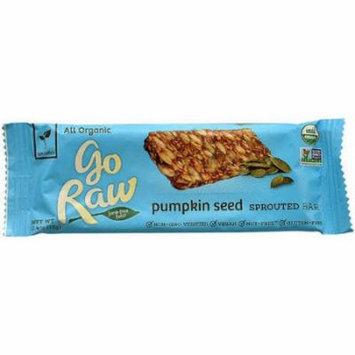 Go Raw Pumpkin Seed Sprouted Bar, 0.46 oz, (Pack of 10)