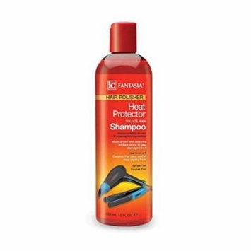 IC Fantasia Hair Polisher Heat Proctector Sulfate Free Shampoo 12 oz. (Pack of 3)