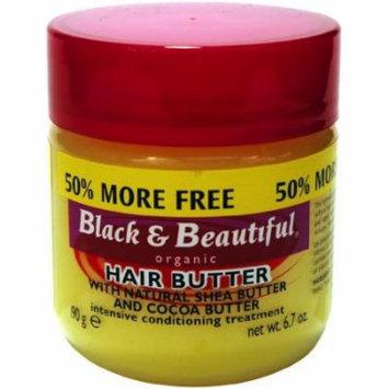 Black & Beautiful Hair Butter Bonus 6.7 oz. (Pack of 6)
