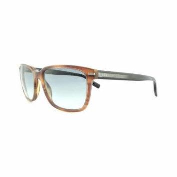 HUGO BOSS Sunglasses 0623/S 0FL6 Brown Black Crystal 55MM