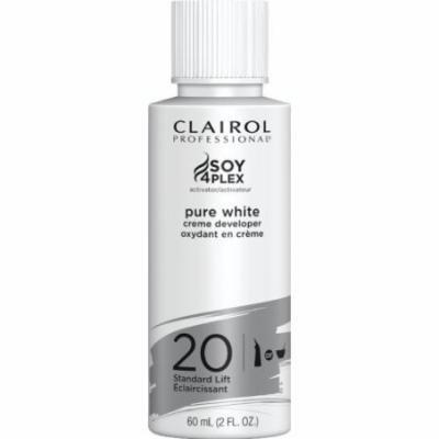 Clairol Professional Pure White Cream Developer - 20 Volume 2 oz. (Pack of 6)