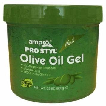 Ampro Styling Gel - Olive 32 oz. (Pack of 2)