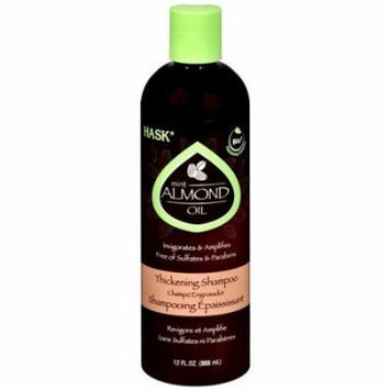 Hask Almond Oil Thickening Shampoo 12 oz. (Pack of 4)