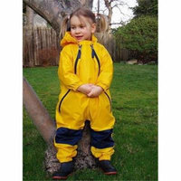 Tuffo LLC MBY-003 Muddy Buddy Waterproof Rain Suit- Yellow- Size 2T.
