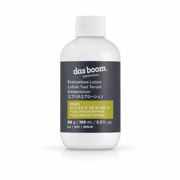 Das Boom Everywhere Lotion, Kyoto, Travel Size