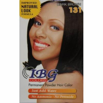 Ideal Black Gold Powder Hair Color - Dark Brown