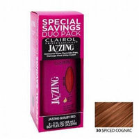 Clairol Jazzing Hair Coloring Duo # 30 - Spiced Cognac 3 oz. (Pack of 2)