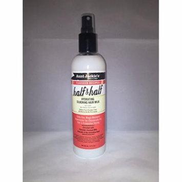 Aunt Jackie's Flaxseed Recipes Half & Half Hydrating Silkening Hair Milk 12 oz. (Pack of 6)