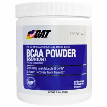 GAT BCAA Powder, 50 Servings