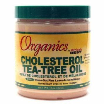 Africa's Best Organic Cholesterol Tea Tree Conditioner 15 oz. (Pack of 2)