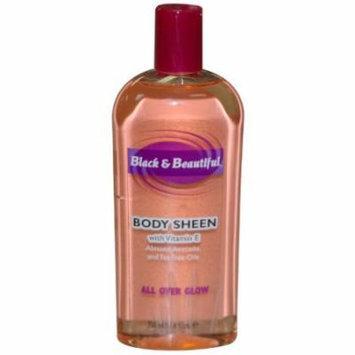 Black & Beautiful Body Sheen Lotion 11.8 oz. (Pack of 6)