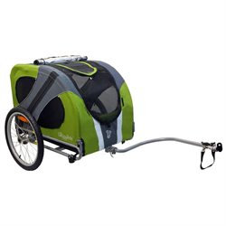 DoggyRide Novel Dog Bike Trailer - Outdoors Green (DRNVTR09-GR)