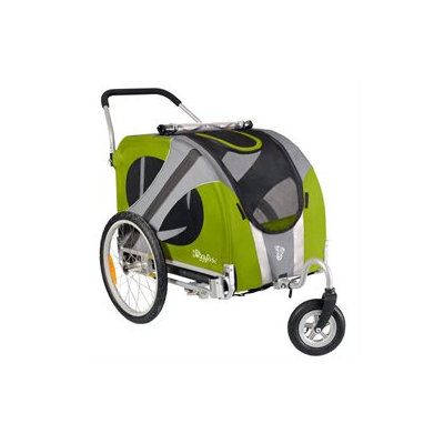 Dutch Dog Design DoggyRide Novel Dog Stroller - Outdoors Green (DRNVST09-GR)