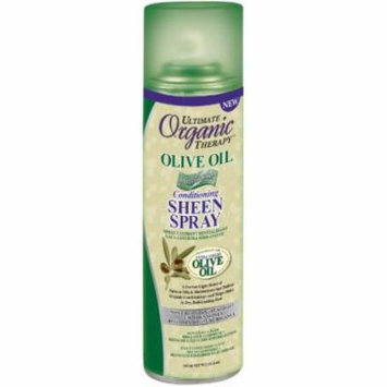 Ultimate Organic Therapy Olive Oil Luminous Conditioning Sheen Spray 11.5 Oz