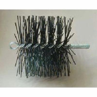 5'' Round Polypro Brush - 3/8'' thread