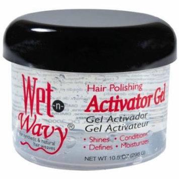 Wet-N-Wavy Hair Pol Activator Gel 10.5 oz. (Pack of 2)