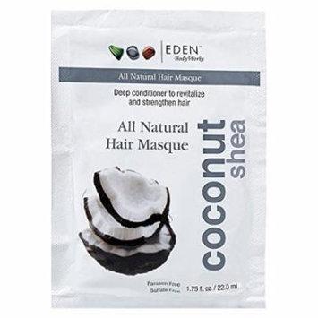 Eden BodyWorks Coconut Shea Hair Masque Packet, 1.75 Ounce