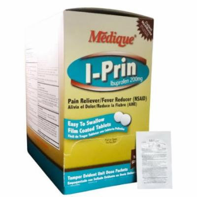 I-Prin Pain Relief Tablets Ibuprofen 200 mg. 200 Tab. / Box by Medique - MS71160 - Pack of 200