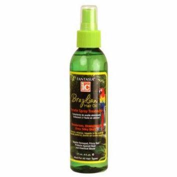 Fantasia IC Brazil Keratin Hair Oil Spray 6 oz. (Pack of 2)