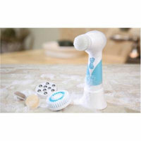 Koolulu 5-in-1 Facial Cleansing Brush and Massager Set, 5 pc