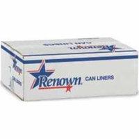 Renown Ren13322-Ca Renown Liner 33X40 33Gl 22Mic Silver 25-Roll 10-Cs