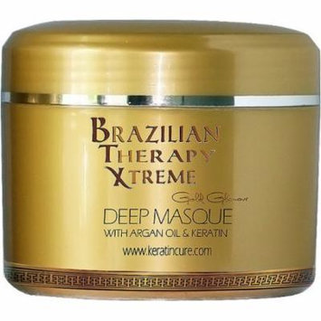 Keratin Cure BTX Pina Colada Deep Masque Revitalizing Hair Repair 250g/8floz