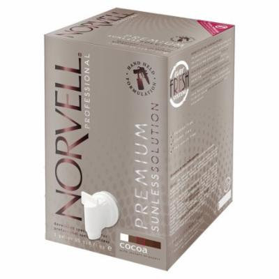Norvell Cocoa Sunless Airbrush Spray Tanning Solution - Gallon