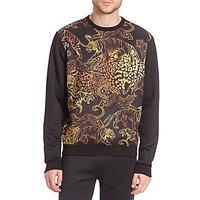 Versace Jeans Tiger Barocco Neoprene Pullover