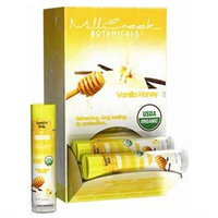 Mill Creek Botanicals - Lip Balm with Cocoa & Shea Butter Vanilla Honey - 0.15 oz.