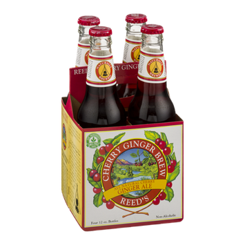 Reed's Cherry Ginger Brew All Natural Cherry Ginger Ale