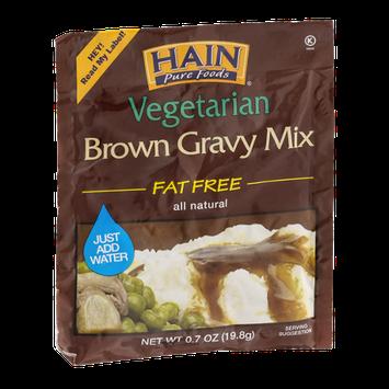 Hain Pure Foods Vegetarian Brown Gravy Mix