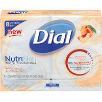 Dial Nutriskin White Peach & Shea Butter Bar Soap