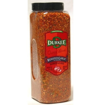 Tone Brothers Durkee Roasted Garlic Seasoning - 21 oz. container, 6 per case