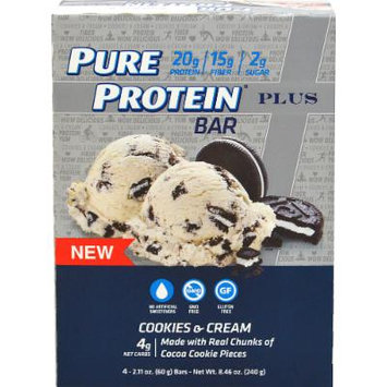 Pure Protein Pure Protein Plus Cookies & Cream-4 Bars