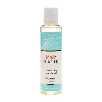 Pure Fiji Exotic Bath & Body Oil White Gingerlilly - 3oz