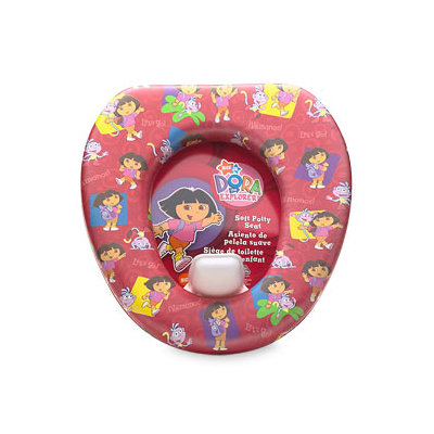 Dora Let's Go Soft Potty Seat
