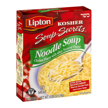 Lipton Kosher Soup Secrets Noodle Soup