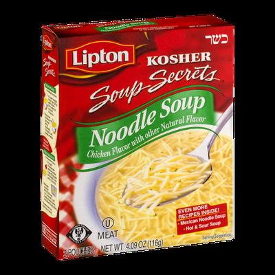 Lipton® Kosher Soup Secrets Noodle Soup