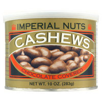 Imperial Nuts Chocolate Covered Cashews, 9 oz