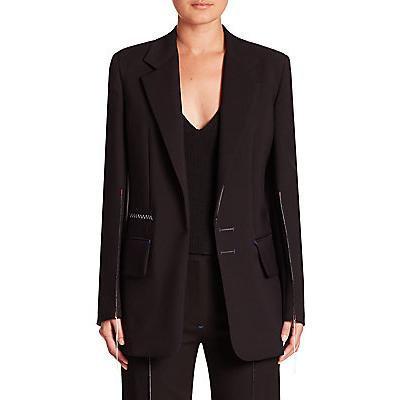 Calvin Klein Collection Jelissa Contast-Stitch Blazer