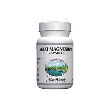 Maxi Kosher Health Energy Production Bone & Nerve Support Magnesium Capsules, 90 Count
