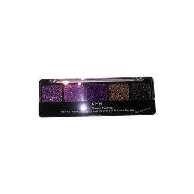 NYX Glitter Cream Palette Royal Violet